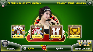 Screenshot of Than bai iWin: Game bai HOT