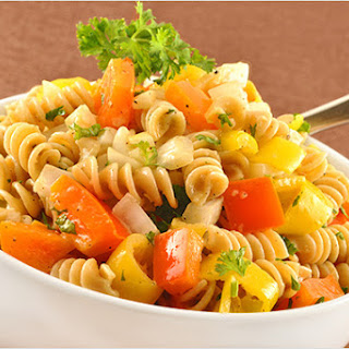 Two-Pepper Pasta Salad