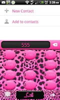 Screenshot of GO CONTACTS - Pink Cheetah