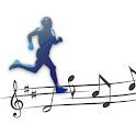Work out music mp3 player icon