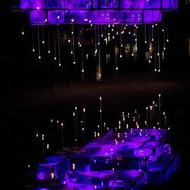 RAINRAINRAIN by Kurt De Somviele - Artistic Objects Furniture ( lights, night view, night photography, lightsphere, nighttime, night, light, night shot, nightscapes, nightscape )
