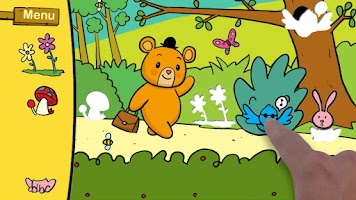 Screenshot of My Friend the Bear Puzzle FREE