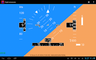 Screenshot of Flight Instruments