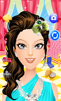 Screenshot of Prom Queen Salon Girls Games