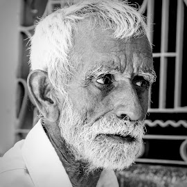 Concentration by Sanjeev Goyal - People Portraits of Men ( get, set, run, and, go )
