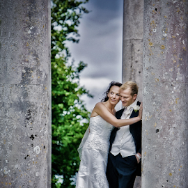 by Lindsay James - Wedding Bride & Groom