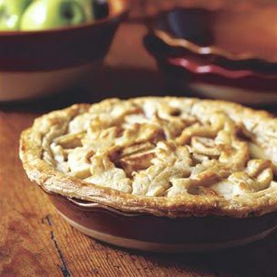 Caramel-Apple Lattice Pie