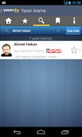 Screenshot of Köşe Yazarları - Yazaroku.Com