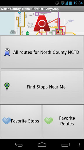 North County NCTD: AnyStop