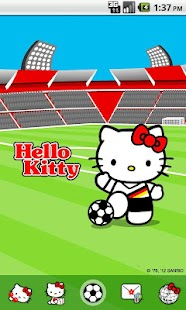 Hello Kitty Stadium Theme - screenshot