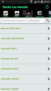Skoda Manuals - screenshot