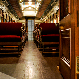 Old Train interior by Jeanne Knoch - Buildings & Architecture Other Interior