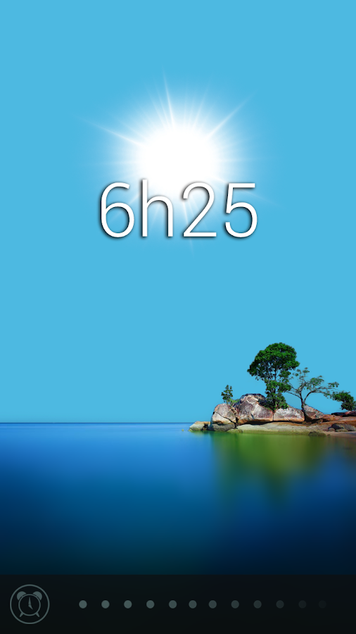 Glimmer (luminous alarm clock) Screenshot 6
