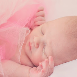 Newborn by Kelsie Anderson - People Family ( tutu, neonate, pink, baby, newborn )