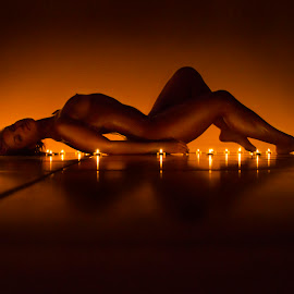 Fire delight by Sloan Willden - Nudes & Boudoir Artistic Nude