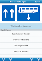 Screenshot of UK Driving Theory Test
