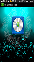 Screenshot of Mp3 Player Free