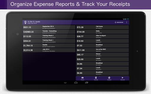 Smart Receipts - screenshot