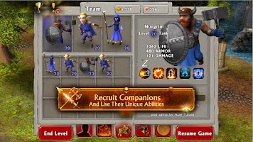 Screenshot of Mage & Minions