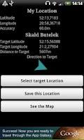 Screenshot of GPS Offline Utility