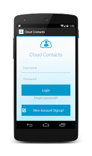 Cloud Contacts - screenshot