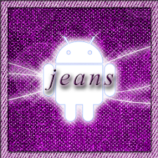 Jeans Pink Go Launcher Theme