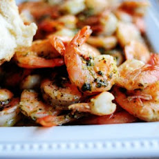 Spicy Lemon Garlic Shrimp