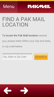 Pak Mail - screenshot