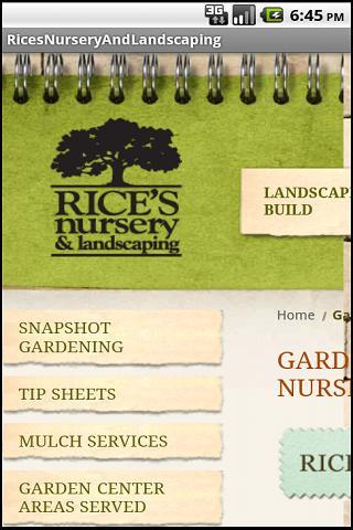 Rice's Nursery Landscaping