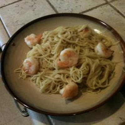 Amaretto Shrimp Almandine