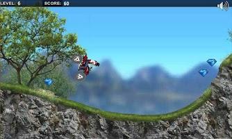 Screenshot of Mountain Moto : Racing Moto