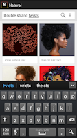 Screenshot of Naturel: Natural Hair Images