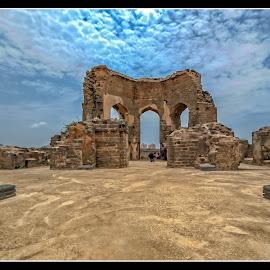 Remains of Bidar Fort by Phani Kumar Kompella - Buildings & Architecture Statues & Monuments ( history, bidar, monuments, architecture, fort, landscape )