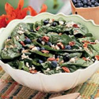 Spinach Salad With Raspberries And Blueberries Recipes