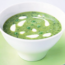 Easy Pea & Mint Soup