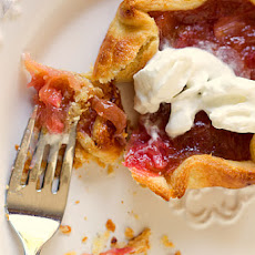 Rhubarb Pie-Tartlets