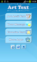 Screenshot of Art Text - Symbol Sms