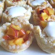 Fresh Peach Tarts