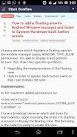 Screenshot of SoClient - StackOverflow