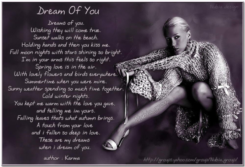 ~~``@ Dream OF YOu @``~~ Pooja Patil