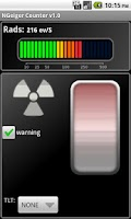 Screenshot of Novelty Geiger Counter