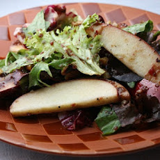 Apple- Walnut Salad w/ Cranberry Vinaigrette