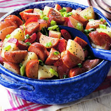 Potato Salad with Smoked Sausage