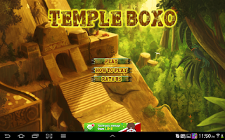 Screenshot of Temple dots box - saga puzzle