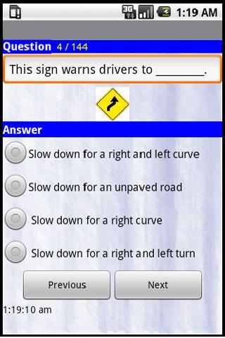 California Driving Tests -2013