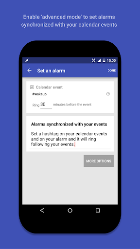 AlarmPad - Alarm clock PRO - screenshot