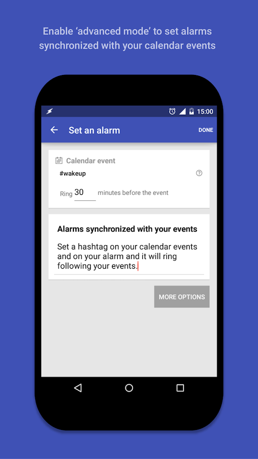AlarmPad - Alarm clock PRO Screenshot 2