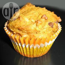 Coconut Pumpkin and Chocolate Chip Muffins