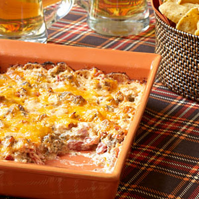 Anne's Hot Sausage Dip