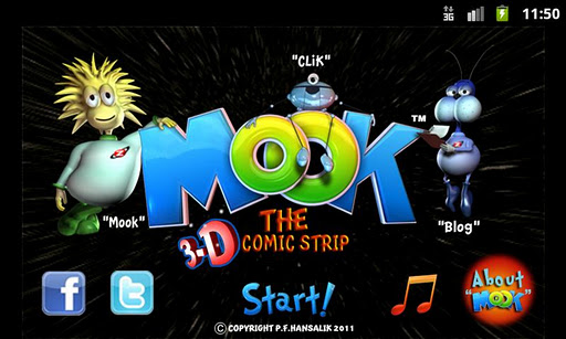 Mook The Comic in 3D Free